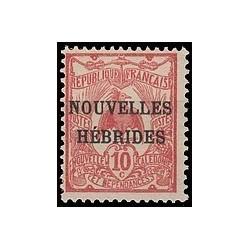 Nouvelles Hebrides N° 002 Obli