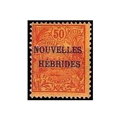 Nouvelles Hebrides N° 004 Obli