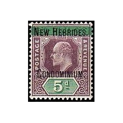 Nouvelles Hebrides N° 009 Obli
