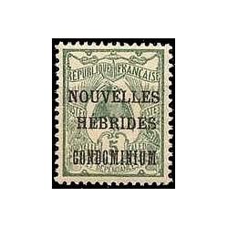 Nouvelles Hebrides N° 015 Obli
