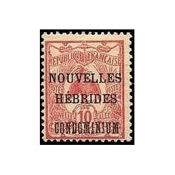 Nouvelles Hebrides N° 016 Obli