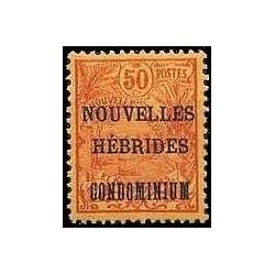 Nouvelles Hebrides N° 018 Obli