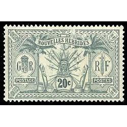 Nouvelles Hebrides N° 029 Obli
