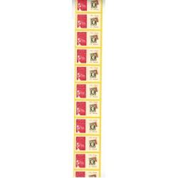 Bande de 11 roulettes Timbres personnalisés N° 3729Ab