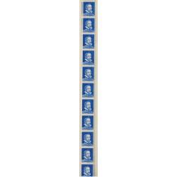 Roulette de 11 timbres Palissy N° Pa8e