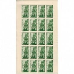 Cote d'Ivoire N° PA006 N ** Feuille de 20