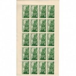 Senegal PA N° 018 N** Feuille de 20