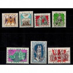 Belgique COB N° 1039 / 1044 Neuf **