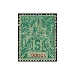 Obock N° 035 Obli