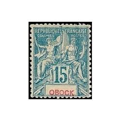 Obock N° 037 Obli