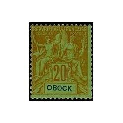 Obock N° 038 Obli