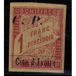 Cote d'Ivoire N° CP013 Obli
