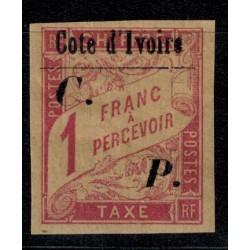 Cote d'Ivoire N° CP019 Obli
