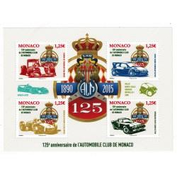 Monaco feuille du N° 2833