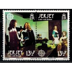 Ile de Jersey N° 0215/216 N**