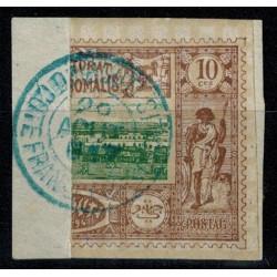 Cote des Somalis N° 010bA Obli