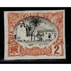 Cote des Somalis N° 054 N *