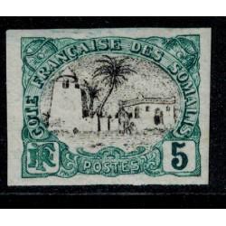 Cote des Somalis N° 056 N *