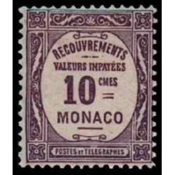 Monaco TA Neuf ** N° 0014