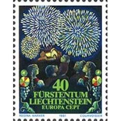 Liechtenstein N° 0705 N**