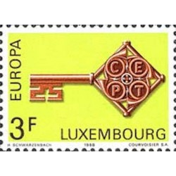 Luxembourg N° 0724 N**