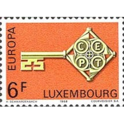 Luxembourg N° 0725 N**