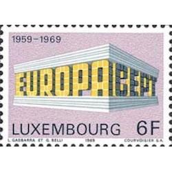 Luxembourg N° 0739 N**