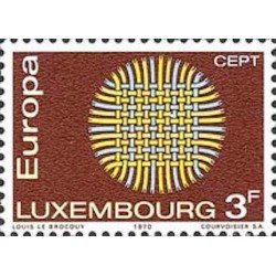 Luxembourg N° 0757 N**