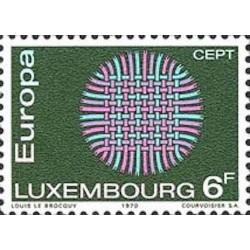 Luxembourg N° 0758 N**