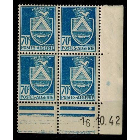 Algérie CD du N° 188 N** par x 4