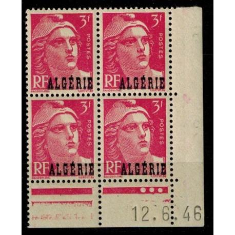 Algérie CD du N° 238 N** par x 4