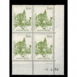 CD  Monaco N° 1411 du 6.4.84 Neuf **