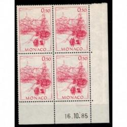 CD  Monaco N° 1510 du 16.10.85 Neuf **