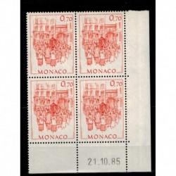 CD  Monaco N° 1512 du 21.10.85 Neuf **