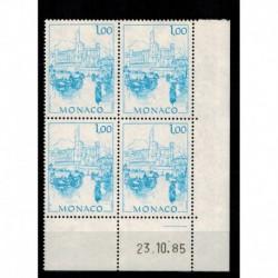 CD  Monaco N° 1515 du 23.10.85 Neuf **