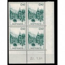 CD  Monaco N° 1763 du 22.1.91 Neuf **