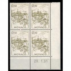 CD  Monaco N° 1765 du 29.1.91 Neuf **