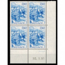 CD  Monaco N° 1766 du 30.1.91 Neuf **