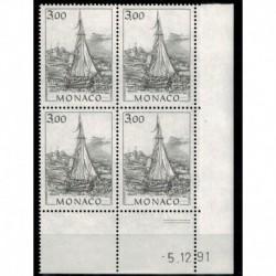 CD  Monaco N° 1837 du 5.12.91 Neuf **