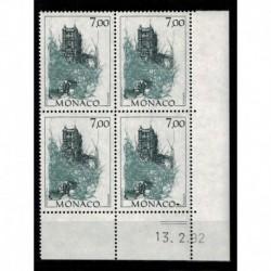 CD  Monaco N° 1838 du 13.2.92 Neuf **