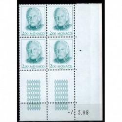 CD  Monaco N° 1671 du 7.3.89 Neuf **