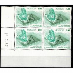 CD  Monaco N° 1585 du 15.7.87 Neuf **