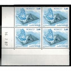 CD  Monaco N° 1588 du 16.7.87 Neuf **