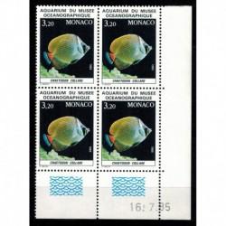 CD  Monaco N° 1485 du 16.7.85 Neuf **