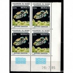 CD  Monaco N° 1486 du 26.7.85 Neuf **