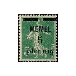 Memel  N° 018 N **