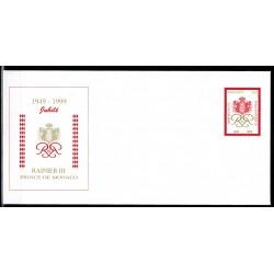 Monaco Entier postal N° 323