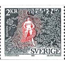 Suède N° 1124 N**