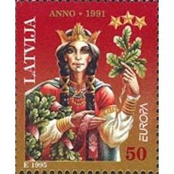 Lettonie N° 0373 N**