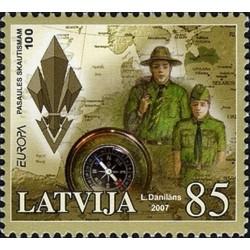 Lettonie N° 0674 N**